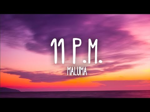 Maluma - 11 P.M. (Letra)