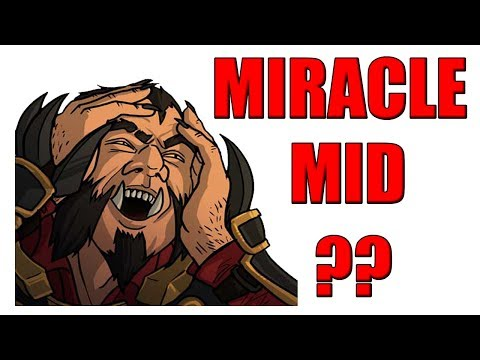 Reddit wtf - Miracle Lycan MID  New style Lycan New Cancer Dota 2