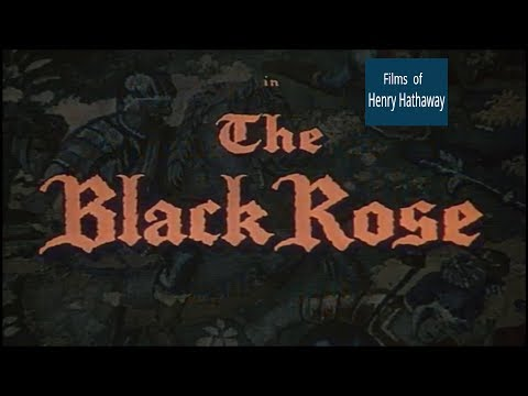The Black Rose (1950) Tyrone Power, Orson Welles   Adventure, History