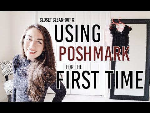 Poshmark: Selling for the first time ( &Closet Clean-Out!)