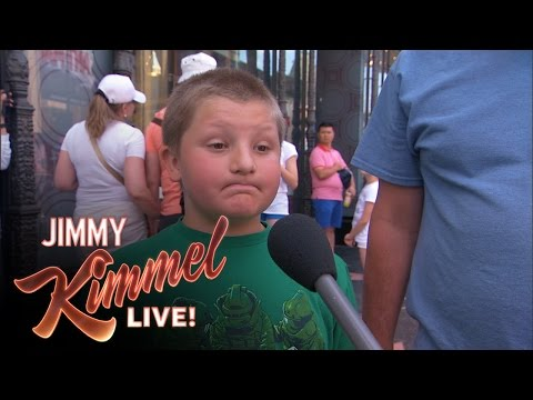 Jimmy Kimmel Asks Kids to Explain Gay Marriage