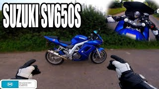 1. 2004 SUZUKI SV650S FIRST RIDE |  V-TWIN POWER