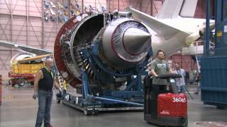 Video Time-lapse: Boeing 787-9 Dreamliner being assembled and painted MP3, 3GP, MP4, WEBM, AVI, FLV April 2019