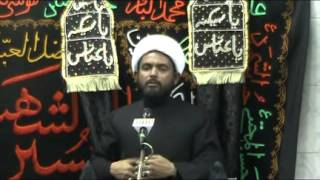 05 - Maulana Ali Abbas Khan (URDU) :: 5th Muharram 1436 :: 29th Oct 2014 :: Bandra Khoja Masjid Mumb