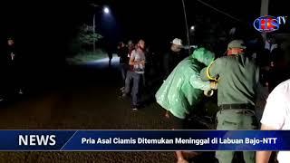 Pria Asal Ciamis Ditemukan Meninggal di Labuan Bajo-NTT (HARIANSIBER TV)