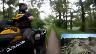9. Can-Am Outlander Max XT-P 1000 Hammer 82 PS Monster ATV mit V-Twin Rotax Triebwerk