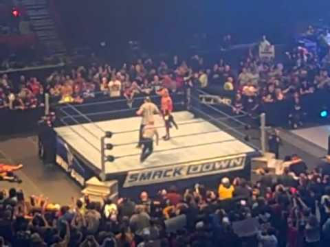 0 Green Bays Clay Matthews as Special Referee at SmackDown Tapings