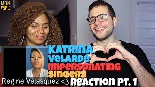 Video Katrina Velarde - Impersonating Singers Pt.1 & 2 Reaction Pt.1 MP3, 3GP, MP4, WEBM, AVI, FLV Juni 2018