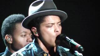 Bruno Mars DooWop classic (live in concert Denver 2011)