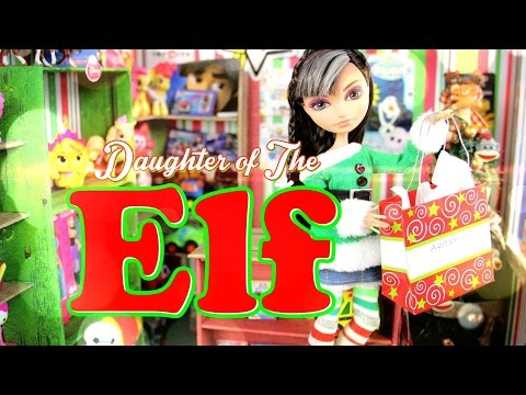 DIY - Custom Doll: Daughter of the Christmas Elf - Handmade - Crafts