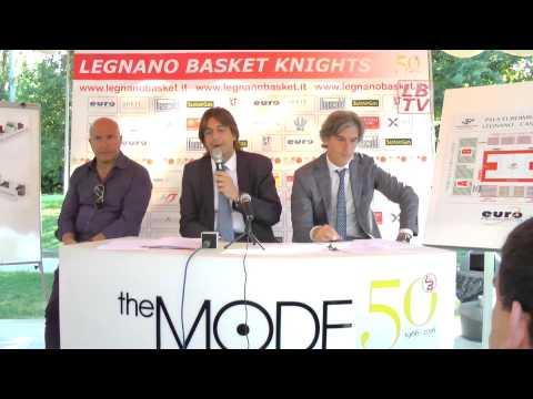 Presentazione Legnano Knights 2015