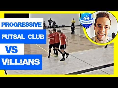 Futsal Match 2018: Progressive Futsal Club Vs Calgary Villains