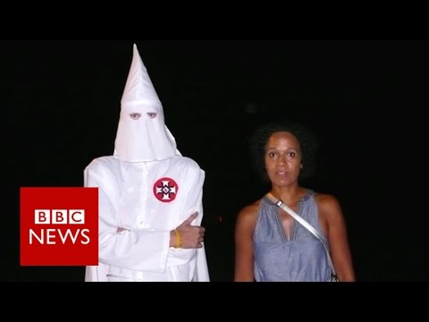 Confronting racism face-to-face – BBC News