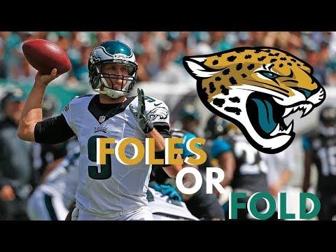 Nick Foles New Quarter Back For Jaguars