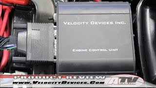 7. ATV Television - Velocity Devices Performance ECU on Suzuki King Quad 700