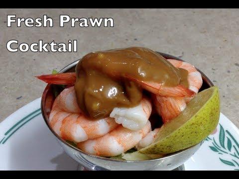 Fresh Prawn Shrimp Cocktail easy Video Recipe cheekyricho
