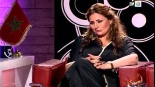 rachid show najat lwafi -p2- رشيد شو : نجاة الوافي