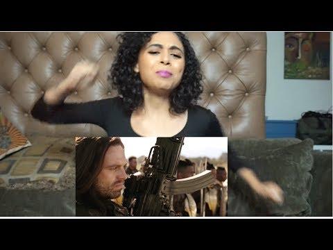 Marvel Studios' Avengers: Infinity War Official Trailer Reaction (видео)
