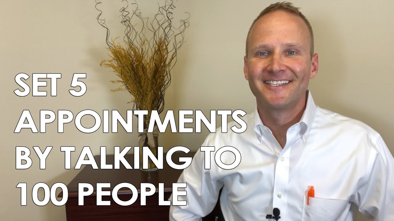 Set 5 Appointments By Talking to 100 People