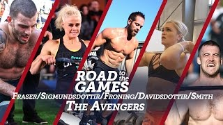 Nonton Road To The Games 16 04  Fraser   Sigmundsdottir   Froning   Davidsdottir   Smith Film Subtitle Indonesia Streaming Movie Download