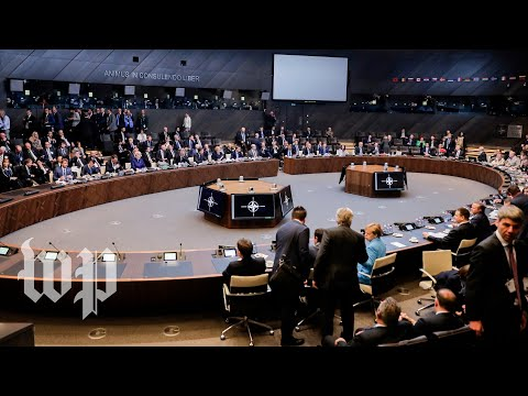 Day two of the NATO summit in Brussels continues