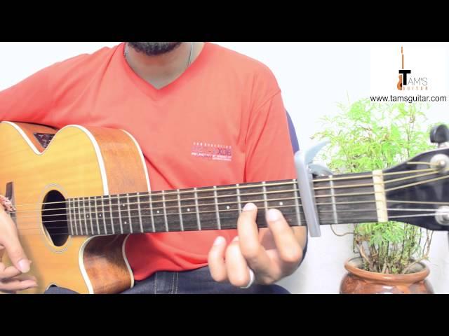 Bol Do Na Zara Azhar Guitar Lesson Easy For Beginners Www Tamsguitar Com : AllMusicSite.com