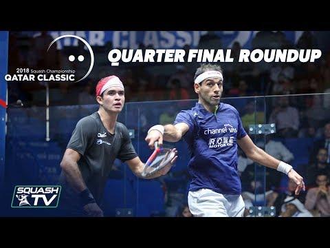 Squash: Quarter Final Roundup - Qatar Classic 2018