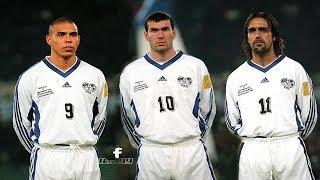 Video Ronaldo, Batistuta And Zidane Teaming Up vs Italy 1998 (Featuring George Weah) MP3, 3GP, MP4, WEBM, AVI, FLV November 2018
