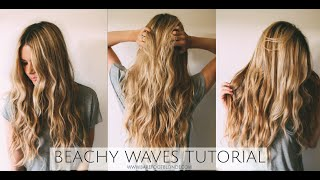 TUTORIAL | Beachy Wave Tutorial