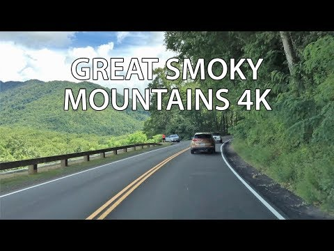 Mountain Driving - America's Most Visited Park 4K - USA (видео)