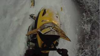 10. Go Pro Ski doo Mxz deep powder