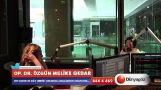 Op. Dr. Melike Gedar NTV Radyo'da Göz Estetiği Hakkında Bilgilendiriyor.