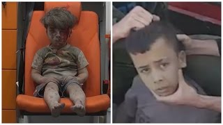 The Truth About the #Syrianboy Viral Photo. Its really a story of two boys