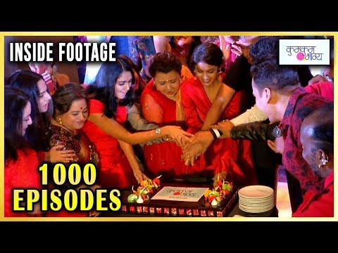 Kumkum Bhagya 1000 Episodes Party INSIDE Footage