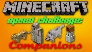 Minecraft Speed Challenge: Companions