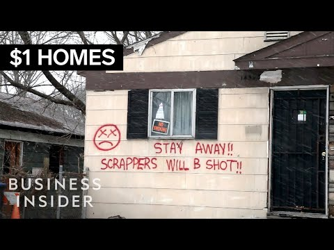 The Truth Behind Those $1 Detroit Homes