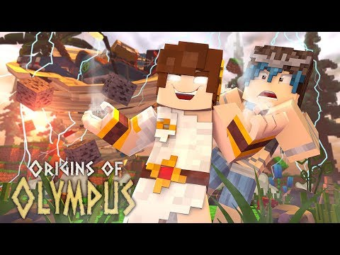 "Minecraft Origins of Olympus - ""BOYFRIEND GIVES ME POWER!"" #5 (Minecraft Percy Jackson Roleplay)"