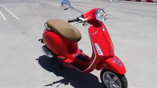 10. 2018 Vespa PRIMAVERA 150 Red