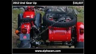 7. 2012 Ural Gear Up New Motorcycles Boxborough MA