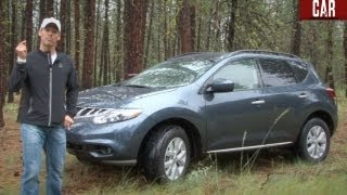 2012 Nissan Murano SL AWD First Drive&Review