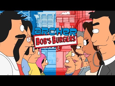 Archer Visits Bob s Burgers in an Amazing Crossover Episode Animated by a