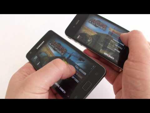 Porównanie Apple iPhone 4 z Samsung Galaxy S II