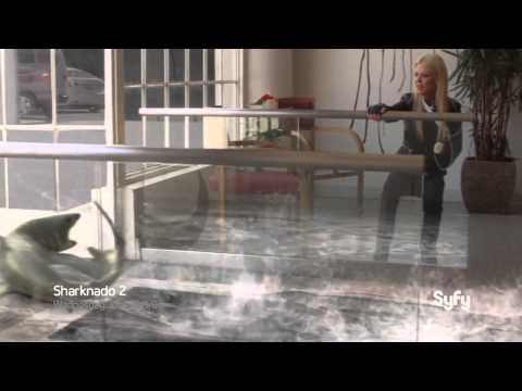 Sharknado 2 The Second One Official Trailer 1 2014   Syfy Channel Sequel HD
