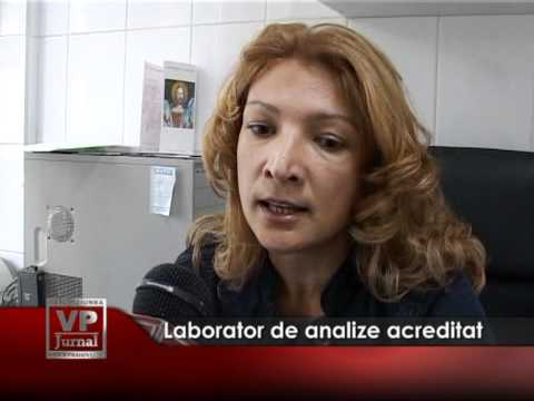 Laborator de analize acreditat