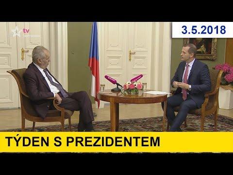 Týden s prezidentem 3.5.2018 / Novičok u nás byl!