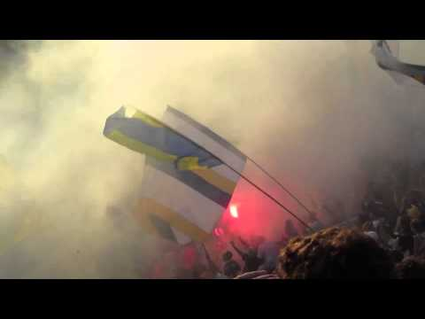 Video - Recibimiento Rosario Central - San Martín San Juan - Los Guerreros - Rosario Central - Argentina