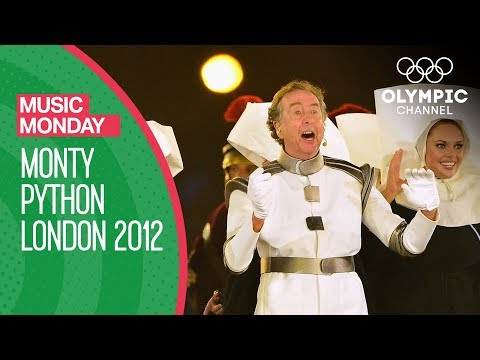 Monty Python's Eric Idle - London 2012 Performance | Music Monday