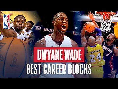 Video: Dwyane Wade Best Career Blocks