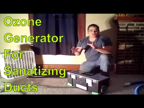 Ozone Generator for Sanitising Ducts: Make your house fresh and healthy