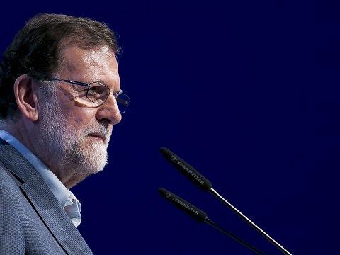 """Rajoy: """"Nosotros huimos de la bronca. Trabajamos en positivo y para que haya buenas noticias"""""""